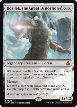 Kozilek, the Great Disortion