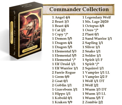 Token - Commander Collection